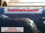 Geotechnical Employment