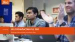 An introduction to Jisc