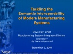 Tackling the Semantic Interoperability of Modern Manufacturing Systems
