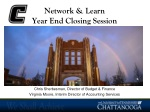 Network & Learn Year End Closing Session