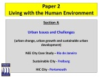Paper 2 Living with the Human Environment