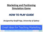 How to Play Powerpoint Marketing and Positioning Simulation Game