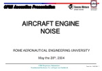 AIRCRAFT ENGINE NOISE