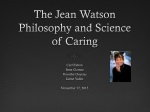 The Jean Watson Philosophy and Science of Caring
