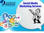 Social media markting services