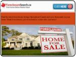 Process of a Foreclosure Toronto Home