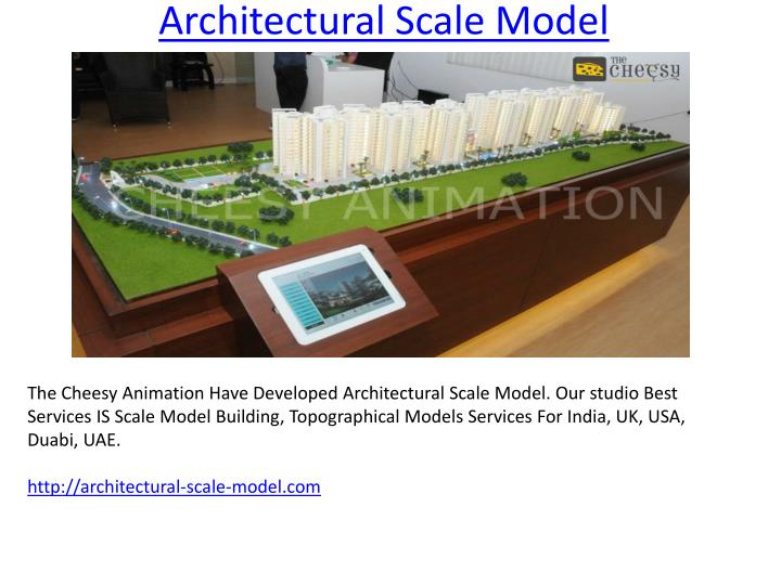 PPT - Architectural Scale Model PowerPoint Presentation - ID:7130719