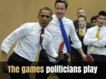 The games politicians play