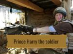 Prince Harry the soldier