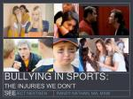 Bullying in Sports (2015)