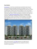 Kunal Group launched Kunal Aspiree Flats in Balewadi, Pune