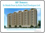 Flats Available in KP Towers Kothrud Pune
