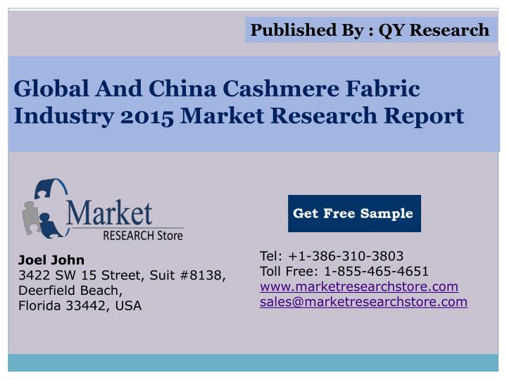 global and china cashmere fabric industry 2015 market research report n.