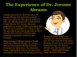 Dr Jerome Abrams | Franklin and Marshall University