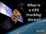 What is a GPS tracking device?