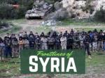 The frontlines of Syria