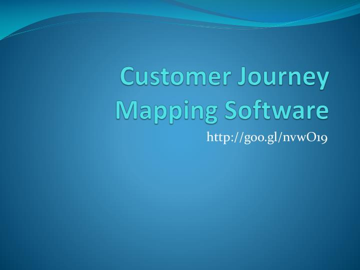 customer journey mapping software n.
