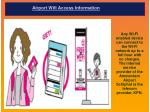 Airport Wifi Access Information