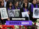 Remembering Armenia's losses