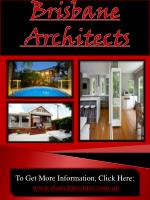 Brisbane Architects