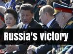 Russia's victory