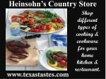 A supplier of different types of cookware - Heinsohn's Count