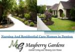 Nursing And Residential Care Homes in Denton