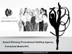 Award Winning Promotional Staffing Agency in New York