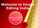 Image Editing Services in India