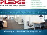 Hire Office Cleaning Service in Brisbane - Pledge Cleaning