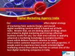 Digital Marketing Agency, India | Top Seo Companies In India