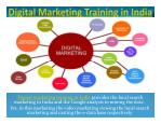 Digital Marketing Training in India