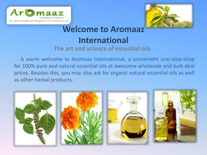 PPT - Buy Natural Essential Oils Online PowerPoint Presentation - ID