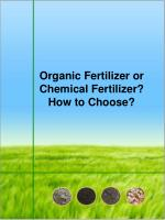 Organic Fertilizer or Chemical Fertilizer? How to Choose?