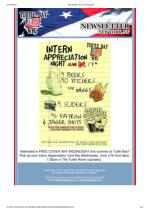 Intern Appreciation Night