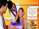 Awesome Ideas to Surprise Your Dearest Sister with a Rakhi
