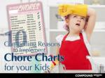 10 Compelling Reasons to Implement Chore Charts for your K