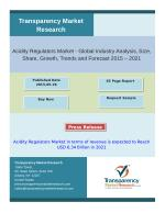 Acidity Regulators Market in terms of revenue is expected to