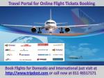 Travel-Portal-for-Air-Ticket-Booking