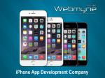 Custom iPhone App Development Company
