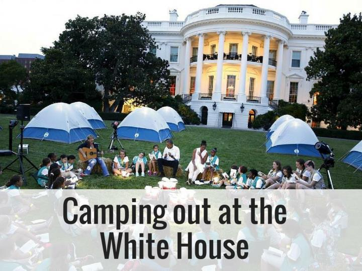 camping out at the white house n.