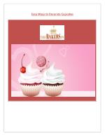 Easy Ways to Decorate Cupcakes
