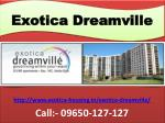 Exotica Dreamville Greater Noida West Residential Project