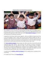 Stepping Stones to the Best Schools in Gurgaon