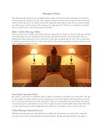 Hotels Massage Dubai