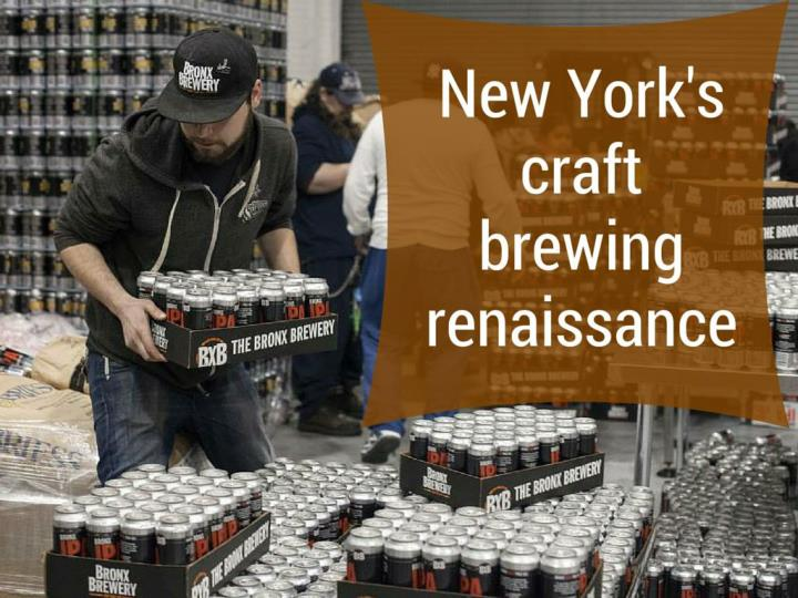 New York's craft brewing renaissance