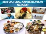 Rich Cultural and Heritage of Gujarat