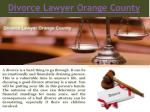 Orange County Divorce Lawyers