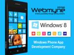 Windows App Development Services in India