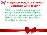 Premium Corporate Gifts | Customized Corporate Gifts - 5By7.in